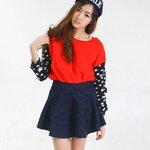 Chiclookgal Lace Mini Skirt กระโปรงบานสั้นลูกไม้สีสวย