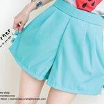 Hug Bow Short Pant {M/Green}