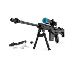 โมเดล (Model) A-22707. ตัวต่อเลโก้จีน ปืนไรเฟิล