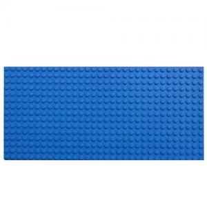 เพลท (Plate) สีน้ำเงิน 12.5x25 cm.
