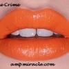 Lime crime ลิปสติก อั้ม พัชราภา ทาในโฆษณา SUNSILK สี MY BEAUTIFUL ROCKET สีส้มสว่าง สีส้มจี๊ดด