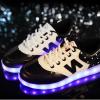 รองเท้าผ้าใบมีไฟ LED - New Balance (เปลี่ยนสีได้ 7 สี)