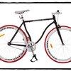 จักรยานฟิกเกียร์ Balance bike 2012