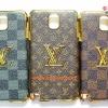 เคสขอบทองหุ้มหนัง Louis Vuitton/Chanel/Gucci Samsung Galaxy Note 3
