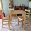 ชุดโต๊ะสี่เหลี่ยมมีลิ้นชัก พร้อมเก้าอี้2ตัว Rectangle Table