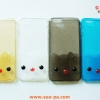 เคสยางใส Hello Kitty แต่งดวงตา-จมูกนูน Iphone 6-5.5 นิ้ว