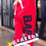 กางเกง สีแดง แพค 6ชุด ไซส์ 12M/80cm-18M/85cm-23M/90cm-2A/95cm-3A/100cm-4A/110cm