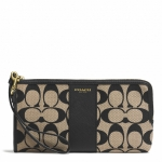 Preorder Coach LEGACY L-ZIP WALLET IN PRINTED SIGNATURE FABRIC STYLE NO. 52125