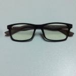 กรอบแว่นตาเกรด A พร้อมเลนส์กรองแสง รุ่น 167