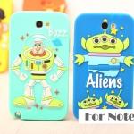 เคส Note 2 Samsung Galaxy Note 2 ซิลิโคน 3D ทอยสตอรี่ Buzz Woody มิสเตอร์โปเตเต้ เอเลี่ยน เคสมือถือ ขายส่ง ราคาถูก