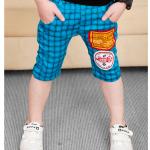 กางเกง สีฟ้า แพค 5 ตัว ไซส์ 100-110-120-130-140