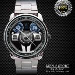 นาฬิกาแฟชั่น 3 D CHRYSLER 300 SRT8 BLACK STEERING WHEEL