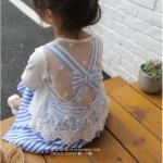 เสื้อคลุม สีขาว แพ็ค 5ชุด ไซส์ 7-9-11-13-15
