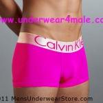 Calvin Klein Men Underwear Steel Trunk (Pink)