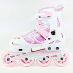 รองเท้าสเก็ต rollerblade รุ่น MZP สีชมพู-ขาว ไซส์ M และ L