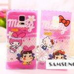 เคสซัมซุง S5 Case Samsung Galaxy S5 TPU ซองขนม fujiya Peko สุดน่ารัก พร้อมเพื่อนๆ มายเมโลดี้ มิกกี้ มินนี่ สติช