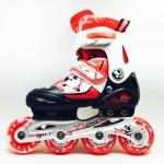 รองเท้าสเก็ต rollerblade รุ่น MCR สีแดง-ดำ Size S