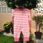 บอดี้สูทลาย Angel สีชมพู size 3m
