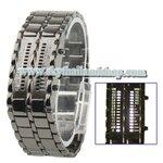 นาฬิกาแฟชั่น LED 2 Column White LED Digital Watch