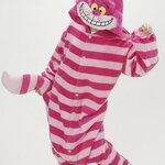 ชุดแฟนซีสัตว์ Cheshire Cat Plush+รองเท้าการ์ตูน