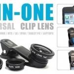 LIEQI LQ-001 3in1 Universal Clip Lens สำหรับ Smartphone เลนส์ติดไอโฟนถ่ายรูป