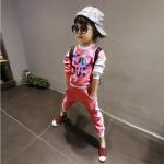 เสื้อ+กางเกง สีชมพู แพ็ค 5ชุด ไซส์ 7-9-11-13-15