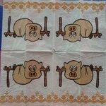 กระดาษแนพกิ้นเดคูพาจ Paper Napkins Decoupage 21x21
