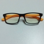 กรอบแว่นตาเกรด A พร้อมเลนส์กรองแสง รุ่น 165