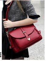 กระเป๋าแฟชั่น Axixi - 052 สีแดง (Free จัดส่ง)