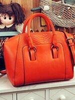 กระเป๋าแฟชั่น Maomaobag - 021 สีส้ม (FREE จัดส่ง)