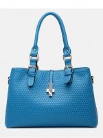กระเป๋าแฟชั่น BBB - 003 สี Blue (FREE จัดส่ง)