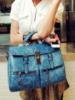 กระเป๋าแฟชั่น Maomaobag - 043 สีน้ำเงิน (FREE จัดส่ง)