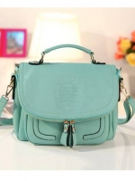 กระเป๋าแฟชั่น Axixi - 003 สี Green Mint (พร้อมส่ง)