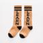 ถุงเท้ายาว สีกากี แพ็ค 10 คู่ ไซส์ M (3-5 ปี) thumbnail 1