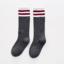 ถุงเท้าสั้น สีเทาเข้ม แพ็ค 10 คู่ ไซส์ M (3-5 ปี) thumbnail 1