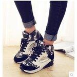 [Pre-oder] รองเท้าผ้าใบแฟชั่น รองเท้าผู้หญิง สไตล์เกาหลี ไซล์ 35-40