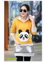 พรีออเดอร์ เสื้อกันหนาว/เสื้อแขนยาว สีเหลือง มีไซด์ M/L/XL