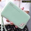[พร้อมส่ง] กระเป๋าสตางค์แฟชั่น ใส่มือถือได้ ขนาด 18.2*9.5*2.5 cm