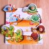 QL-021 Animal  #ของเล่นไม้# ของเล่นไม้เด็กเล็ก# ของเล่นไม้ 1 ขวบขึ้นไป# ฝึกการหยิบจับ ความคิด ภาพเหมือน ในการเรียบเรียง รูปทรง
