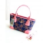 (Preorder เมษายน 58) Authentic Vivienne Westwood Saturn printed handbag สวยมากๆๆๆๆ