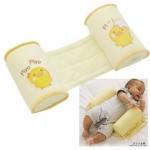 หมอนจัดท่านอนเด็กแรกเกิดแบบ 2 in 1 ให้หัวสวย โดยไม่ต้องให้น้องนอนคว่ำ ซึ่งเสี่ยงต่อการหยุดหายใจในทารก ป้องกันแม่กลิ้งทับตัวเด็ก