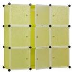 สีเขียว บานตู้สีขาว ตู้ DIY มีหลายขนาด 6,8,9,12,16 ช่อง พลาสติกหนา รับน้ำหนักได้ช่องละประมาณ 10-15 กิโลกรัม