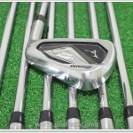 MIZUNO JPX-825 PRO IRONS 5-PW & GW (7PC) DYNALITE GOLD XP R300 STEEL REGULAR