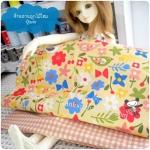 August57Pack8 : ผ้าจัดเซต ผ้า USA นำเข้า + ผ้าในตลาดไทย ขนาดผ้าแต่ละชิ้น 25-27 X 45-50 cm