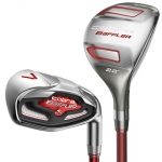 NEW COBRA BAFFLER COMBO IRON SET 5H-GW ALL GRAPHITE FLEX R