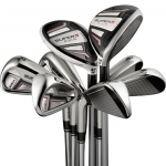 (NEW) IRON SET ADAMS IDEA SUPER S COMBO #4 - PW & SW MATRIX KUJOH FLEX SENIOR