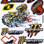 สติ๊กเกอร์คละแบบ Racing 018