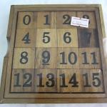 เกมเรียงตัวเลขไม้