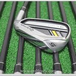 TAYLORMADE ROCKETBLADEZ IRONS 5-PW, GW & SW (8PC) ROCKETFUEL 65 GRAPHITE REGULAR