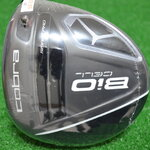 NEW COBRA BIO CELL BLACK DRIVER ADJUSTABLE (9*-12) PROJECT X VELOCITY 6.0 FLEX S